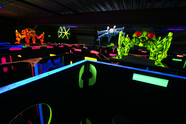 Conception et installation de centres Laser Game
