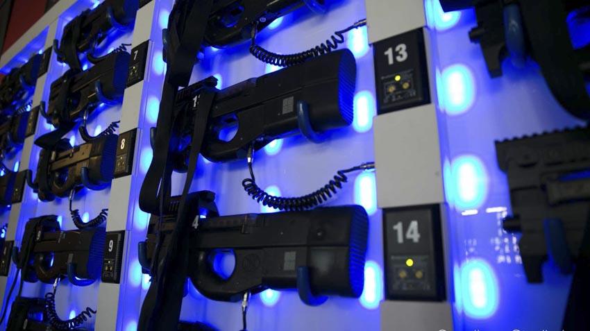 Lasergame uitrusting kopen