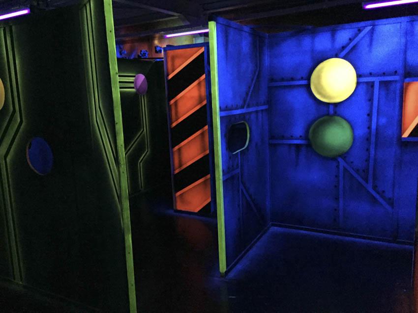 Lasergame fabrikant - Infrarood en Laser 100%